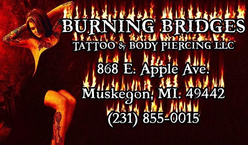 Burning Bridges Tattoos