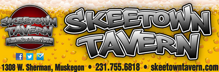 Skeetown Tavern Beer Sign Graphic